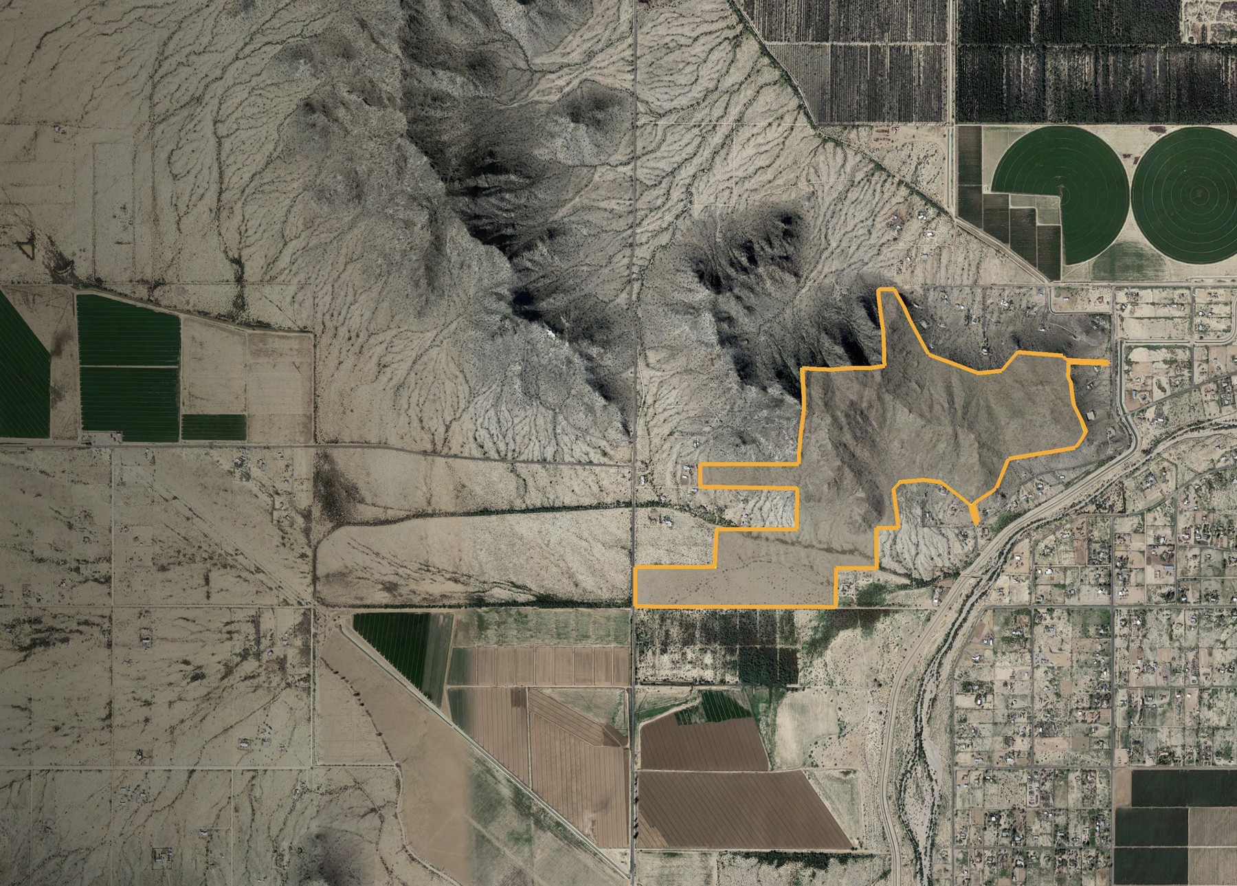 Hidden Valley and Papago Roads