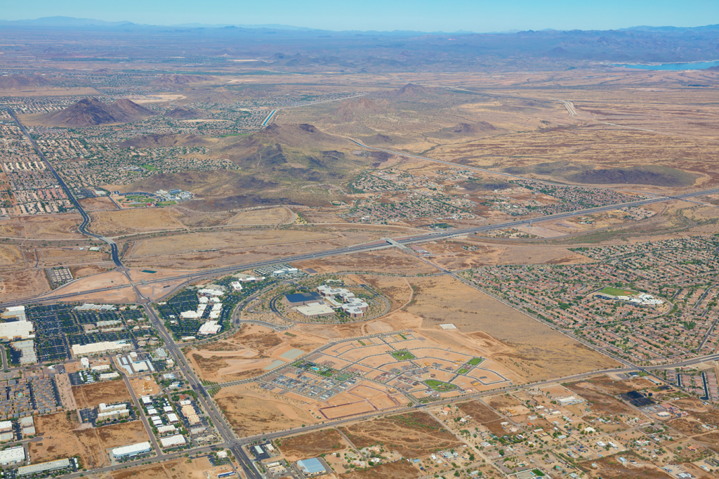Union Park - Residential and Commercial land use